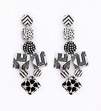 Arrow Earrings by Louise Fischer Cozzi (Polymer Clay Earrings)