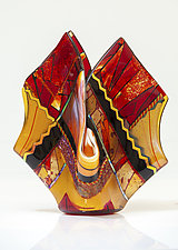 Twilight Vessel by Varda Avnisan (Art Glass Vessel)