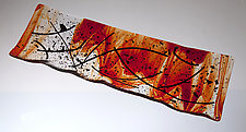 Amore Platter by Varda Avnisan (Art Glass Platter)