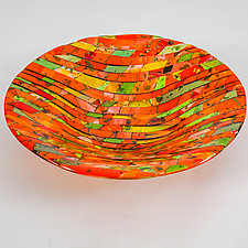 Harvest by Varda Avnisan (Art Glass Bowl)