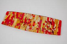Sedona Art Glass Platter by Varda Avnisan (Art Glass Platter)