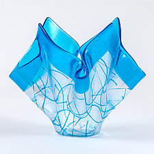 Broken Geometry II by Varda Avnisan (Art Glass Vessel)