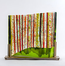 Amazon by Varda Avnisan (Art Glass Sculpture)