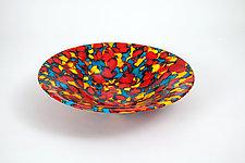 Kaleidoscope by Varda Avnisan (Art Glass Bowl)