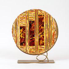 Windows to the Sun by Varda Avnisan (Art Glass Sculpture)