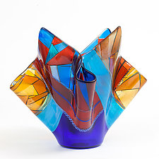 Barcelona Vessel by Varda Avnisan (Art Glass Vessel)