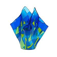 Amalfi Vessel by Varda Avnisan (Art Glass Vessel)