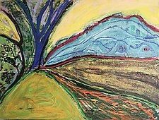 Landscape Rhythms II by Leonard Moskowitz (Acrylic Painting)