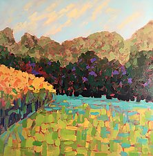 The Meadow by Leonard Moskowitz (Acrylic Painting)