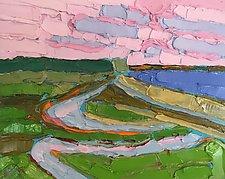 Ebbing Tide by Leonard Moskowitz (Oil Painting)