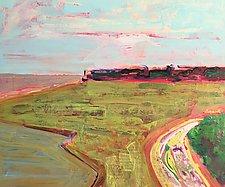 Coastal Landscape by Leonard Moskowitz (Acrylic Painting)