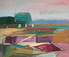 Harbor at Stony Creek by Leonard Moskowitz (Acrylic Painting)