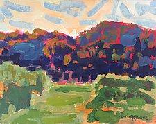 Walk Through the Cornfield by Leonard Moskowitz (Acrylic Painting)