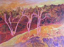 Passion Landscape by Leonard Moskowitz (Acrylic Painting)