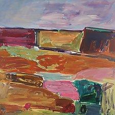 Nantucket Landscape VI by Leonard Moskowitz (Acrylic Painting)