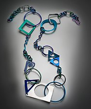 Sacred Geometry Jewelry by Sylvi Harwin (Aluminum Jewelry)