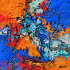 Overcoming by Nancy Eckels (Acrylic Painting)