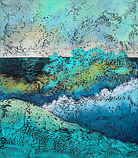 March to the Beach by Nancy Eckels (Acrylic Painting)