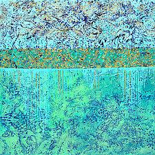 Liquid Treasure by Nancy Eckels (Acrylic Painting)