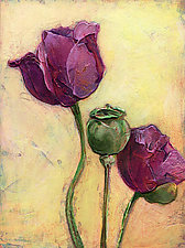 Black Peony by Denise Souza Finney (Giclee Print)