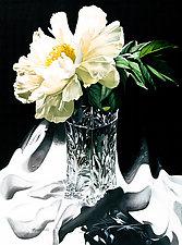 Crystal Peony by Barbara Buer (Giclee Print)