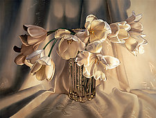 White Tulips by Barbara Buer (Giclee Print)