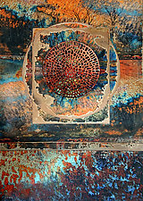 Sacred Journey by LuAnn Ostergaard (Mixed-Media Collage)