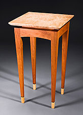 Y2K Small Side Table by Bayley Wharton (Wooden Side Table)