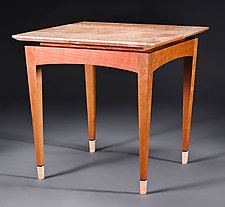 Y2K Large Side Table by Bayley Wharton (Wooden Side Table)