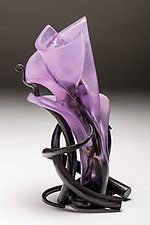 Ikebana 24 by Brian Russell (Art Glass Sculpture)