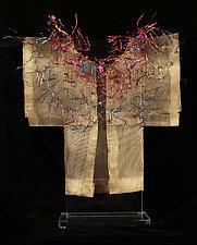 Blithe Spirit Kimono by Susan McGehee (Metal Sculpture)