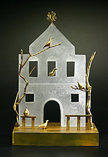 The White House I by Georgia Pozycinski and Joseph Pozycinski (Art Glass & Bronze Sculpture)