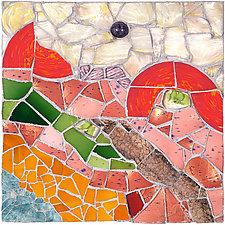 Dutch Landscape by Jonathan I. Mandell (Mosaic Wall Sculpture)