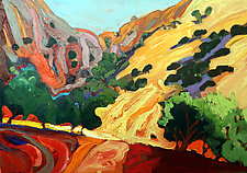 Summer Hills by Bruce Klein (Acrylic Painting)