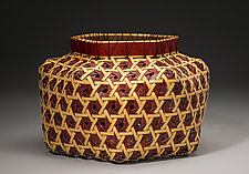 Hexagonal Weave Basket 101 by Jackie Abrams (Fiber Basket)