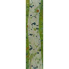 Blue Lichen, Eastern Hemlock by Katherine Steichen Rosing (Acrylic Painting)