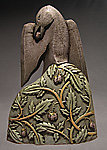 Blackbird by Steve Gardner (Ceramic Sculpture)