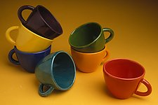 Mugs by Abby Salsbury (Ceramic Mug)