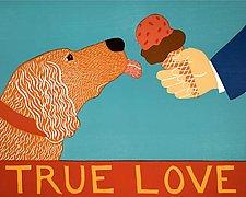 True Love by Stephen Huneck (Giclee Print)