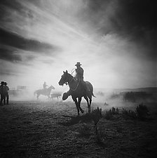 Top Hand by Adam Jahiel (Black & White Photograph)