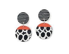 Vicki Earrings by Klara Borbas (Polymer Clay Earrings)