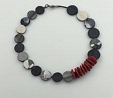 Patchwork Necklace by Klara Borbas (Polymer Clay Necklace)
