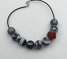 Eclectic Necklace by Klara Borbas (Polymer Clay Necklace)