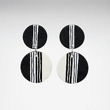 Vanessa Earrings by Klara Borbas (Polymer Clay Earrings)