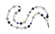 Natalie Necklace by Klara Borbas (Polymer Clay Necklace)