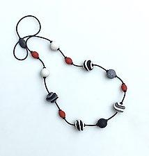 Jeny Necklace II by Klara Borbas (Polymer Clay Necklace)
