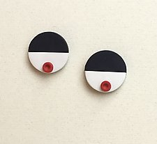 Belle Earring by Klara Borbas (Polymer Clay Earrings)