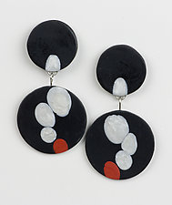Krista Earrings by Klara Borbas (Polymer Clay Earrings)