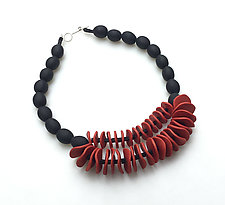 Josephine Necklace by Klara Borbas (Polymer Clay Necklace)