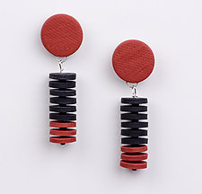 Beata Earrings by Klara Borbas (Polymer Clay Earrings)